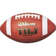 Wilson TDJ Junior Leather Football
