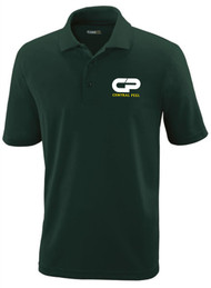 Performance Short Sleeve Pique Polo -  Male - Forest Green
