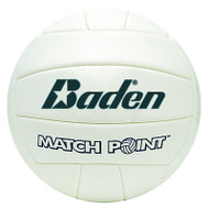 Baden Synthetic Leather Volleyball - White