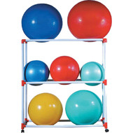 Economy Exercise Ball Rack