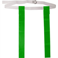 "Deluxe 48"" Adult Flag Football Belt with D-Rings - Kelly"