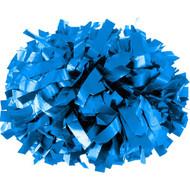 "Columbia Blue - 6"" Plastic Pom with baton handle"
