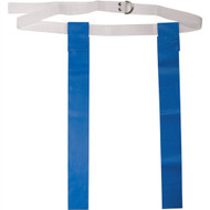 "Deluxe 48"" Adult Flag Football Belt with D-Rings - Royal Blue"