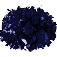 "Navy Blue - 6"" Plastic Pom with baton handle"