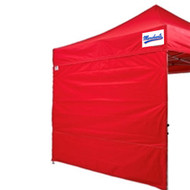 Stock 10 ft x10 ft Impact Side Wall - Pair (Black, Royal, Red, White, Kelly Green)