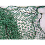 "Custom Golf Netting 7/8"" sq. Holed Green Mesh"