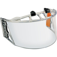 I-Tech clear half visor