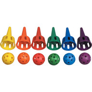 Catch-A-Cup Plastic Agility Set of 6