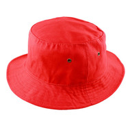 KNP Adult,Youth Brushed Cotton Twill Super Value Bucket Hat/ Mesh Lining (KP-CT3870)