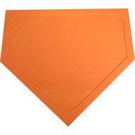 Heavy Duty Orange Vinyl Home Plate