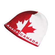 KNP Adult CANADA Pattern Jacquard Knit Acrylic Beanie (KP-AC2350)