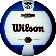 Wilson I-COR Power Touch Volleyball NAVY/WHITE