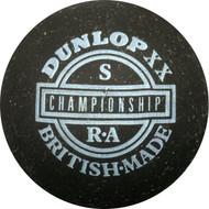 Dunlop competition yellow dot squash ball