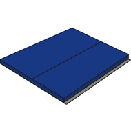 "Collegiate Mat 4'x4'x2"" with 2 Side Velcro"