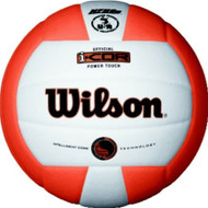 Wilson I-COR Power Touch Volleyball ORANGE/WHITE
