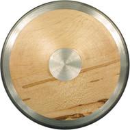 1.61 kg  Wood/Steel Rim Discus