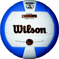 Wilson I-COR Power Touch Volleyball ROYAL/WHITE
