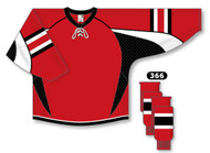 Athletic Knit Pro Series Hockey Jersey with Lace Neck