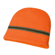 KNP Adult Acrylic Knit Toque, Full Fleece Lining, Multiple Stripes (KP-AC2950)