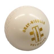 White Indoor Cricket Ball - Gray Nicolls