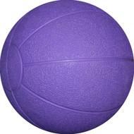 Rubber Medicine ball 1 kg Purple