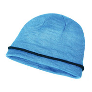 KNP Adult Acrylic Knit Toque, Half Fleece Lining, Single Accent Stripe (KP-AC2980)