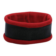 KNP Adult Acrylic Knit Head Band with Contrast Polar Fleece Trimming (KP-AF9870)