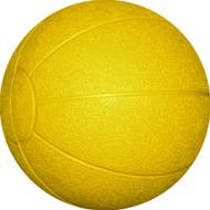 Rubber Medicine Ball 3 kg. Yellow