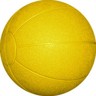 Rubber Medicine Ball 3 kg. Yellow