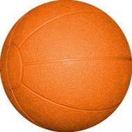 Rubber Medicine Ball 4 kg. Orange