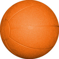 Rubber Medicine Ball 4 kg. Orange