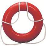 "20"" Ring Buoy - Orange 4.2lbs"