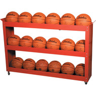 Multipurpose 3 shelf ball carrier