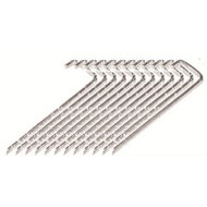 """10"""" Soccer Steel Ground Anchors - Set of 12"""