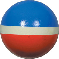 3 inch red/white/blue tritone sponge ball