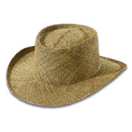 KNP Adult Twisted Seagrass Straw Hat / UV Protected Underbrim Cover (KP-ST0310)