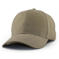 KNP Adult Brushed Cotton Twill Cap / Cloth Strap (KP-CT6820)