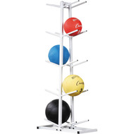 Double Medicine Ball Tree Rack