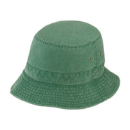 KNP Adult,Youth Garment Washed Pigment Dye Bucket Hat (KP-CP3990)