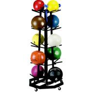 Portable Medicine Ball Rack