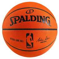 Spalding NBA Official Leather Game Ball - Size 7