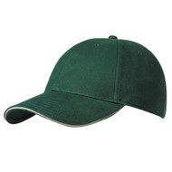 KNP Adult Brushed Cotton Twill Stretchable Fitted Cap/Sandwich Peak (KP-CS6520)