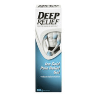 Ice Cold Pain Relief Gel - 100g Tube