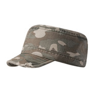 KNP Adult Camo Military Cap with Torn Edge (KP-CT1662)