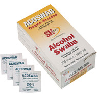 Alcohol Swabs/Wipes Box of 200