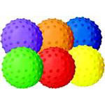 "Sensory Playball 5"" Rainbow Set (6)"