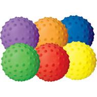 "4"" Rainbow Sensory Balls (set of 6)"