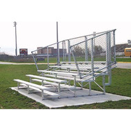 Bleachers 15' - 4 row model - seats 40