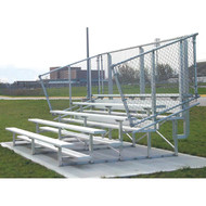 Bleachers 15' - 5 row model - seats 50