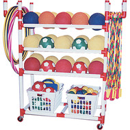 Playground Storage Cart